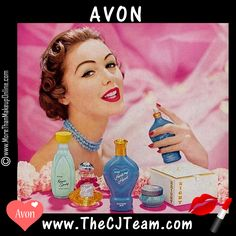 #Vintage #Avon - #Fragrances  Step back in time and see how Avon had you covered in your favorite fragrances then as well as now! Regularly $4 and up. Shop online with FREE shipping with any $40 online Avon purchase.  #CJTeam #Sale #Fragrance #Perfume #VintageAvon #BackInTime #Parfum #1950Avon Shop Avon #C4 Fragrance Sale online @ www.TheCJTeam.com