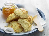 No-butter scones
