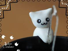 Niedliche Polymerclay Teebeutel Halter von JuskanCreations auf Etsy