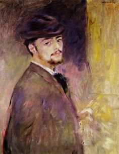 Pierre-Auguste Renoir Self-Portrait