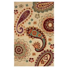 I pinned this Radha Rug from the Look: Worldly event at Joss and Main!