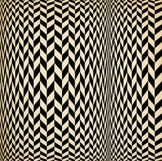 """""""Ruth Asawa Untitled (SF.003, Undulating Parallelograms), c. 1951-1952 ink and gouache on board 27 x 27 inches """""""