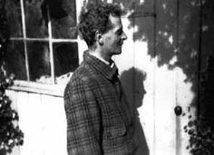 Ludwig Wittgenstein im Fellows Garden, Trinity College. Aufnahme von Norman Malcom