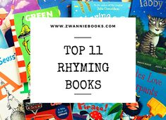 We've always loved reading books with a good funny rhyme, and over the years we've got some serious favourites. Today we'd like to share with you our Top 11 Rhyming Books that have been inspirational in where we are today. Learn To Read, Love Reading, Love Book, Over The Years, Books To Read, Learning, Funny, Blog, Study