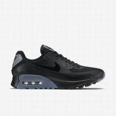 purchase cheap 1e888 8c192  102.13 air max 90 essential black grey,Nike Womens Black Cool Grey Pure  Platinum Black Air Max 90 Ultra Essential Shoe