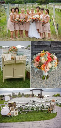 Kelowna Wedding at Summerhill Pyramid Winery by Rachel Peters Photography - Style Me Pretty