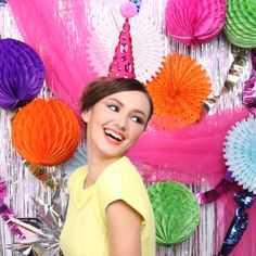 Headband by Sereni & Shentel 2013 Party Collection - Party Pom Pom. Made in Borneo.