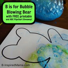 Letter B Activity [Amazing Action Alphabet Review & Giveaway]