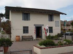 Casa del Oro - built 1845 first mercantile store in Monterey City Of Monterey, California History, Santa Barbara, State Parks, Joseph, Boston, Store, Building, Outdoor Decor