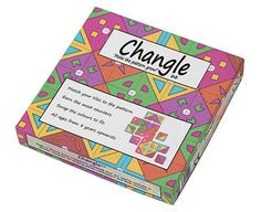 Original Gift Company Changle Game Called Changle its a kaleidoscopically colourful, pattern-matching, brain-teasing new game for one to four players or teams aged 8 upwards. Add the tiles to make the pattern grow. (Barcode EAN=5038623 http://www.MightGet.com/february-2017-2/original-gift-company-changle-game.asp