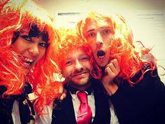 Fun at work #work #workinghard #workinghardtoday #fun #redhair #hairstyle #wig #colleagues #friends #friendship #gay #instamood #instagay #gayfriends #brighton by s.staley #brighton