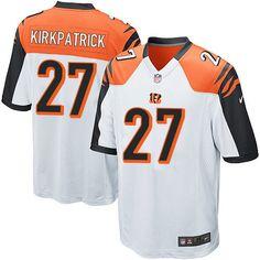 Nike Limited Dre Kirkpatrick White Youth Jersey - Cincinnati Bengals #27 NFL Road