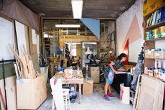 Studio Visit: Esther Stewart, North Melbourne