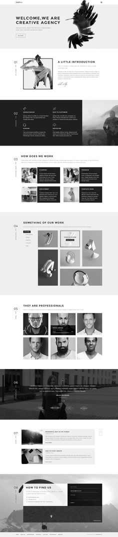Simplicity in Webdesign! #WEB #THEMES