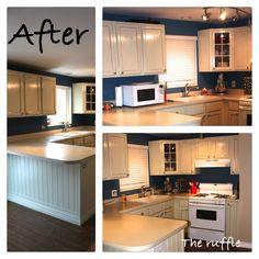 The Ruffle: Kitchen Cabinets
