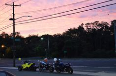 Beautiful night for a ride in Westbury, NY