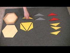 Montessori Sensorial Lesson - Large Hexagon Box - YouTube