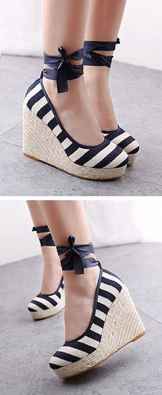 Stripe Wedges //