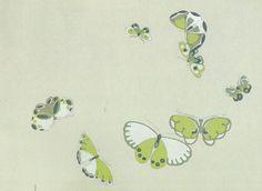 図案集「蝶千種」(神坂雪佳 Kamisaka Sekka)