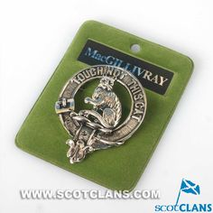MacGillivray Clan Crest Badge