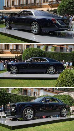 Seven decades have passed since the world last saw a coach-built Rolls-Royce, so it was with a touch of grandiosity and sprezzatura that CEO Torsten Müller-Ötvös and Design Director Giles Taylor unveiled the Sweptail at the 2017 Concorso d'Eleganza Villa d'Este