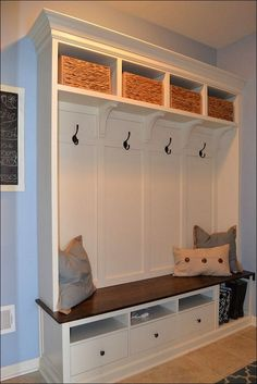 Mudroom Lockers with Bench PlansSuper HD Photo Gallery