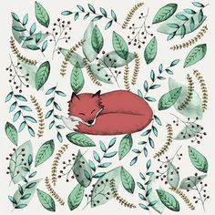 Jessica Willan Sleeping Fox