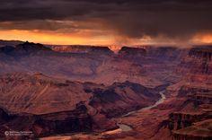 Watchtower, Grand Canyon NP. USA. Winter 2013. http://www.facebook.com/matthieu.parmentier.photography