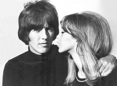Harrison & Pattie Boyd, while Harrison