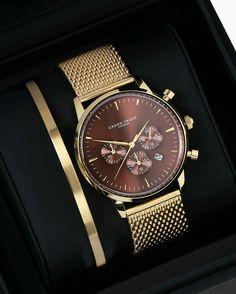 Gentleman Watch, Watch Display, Gents Watches, Gold Watch, Groom Style,  Men s ca8c519ce4