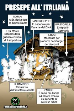 Presepe all'italiana - bastardidentro