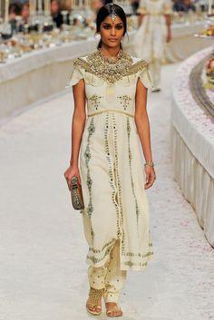 Chanel Pre-Fall 2012 Fashion Show - Alissah Ali (IMG)