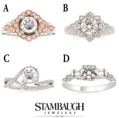 It's #WeddingWednesday!  Which of these four #ForeverElegant styles do you like best?  Visit our Facebook page to vote!