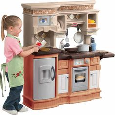Little Tikes Gourmet Prep N Serve Kitchen, Brown/Tan