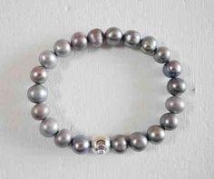 Pulsera de perlas cultivadas