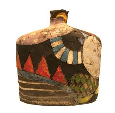 Ceramic Pottery, Pottery Art, Ceramic Art, Pottery Sculpture, Sculpture Art, Paper Bowls, Pottery Painting Designs, Clay Texture, Vases