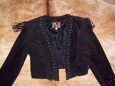 Vintage Tony Lama Vintage Suede Jacket by michellerubiano on Etsy, $80.00