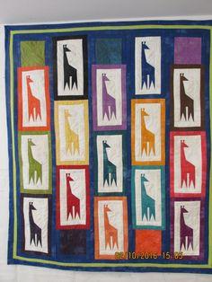giraffe quilt - special order by carmenjass on Etsy