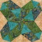 Beautiful Bombay Quilt Block Pattern