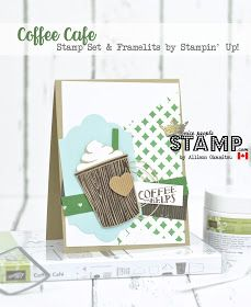 Coffee Café Cards & VIDEO: Stampin' Up!