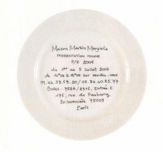 Maison Martin Margiela Show Invites Fashion Show Invitation, Graphic Design Typography, My New Room, Packaging Design, Art Photography, Decorative Plates, Invitations, Tableware, Image