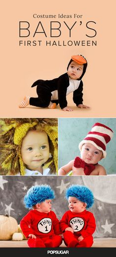 Baby's First Halloween: 24 Cute Costume Ideas