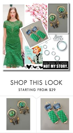 """""""ChloesVintageJewelry #2"""" by nermina-okanovic ❤ liked on Polyvore featuring Burberry and vintage"""