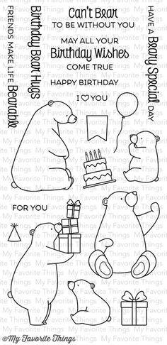 Birthday Bear Hugs!!