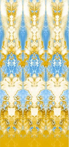 Timorous Beasties Ikat Damask from Ted Boerner