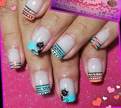 Chismositos Cat Nail Art, Cat Nails, Hello Nails, Easter Nails, Funky Nails, Cute Nail Designs, Nail Polish Colors, Nail Tips, Nails Inspiration