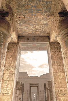 Fotografía Mortuary Temple of Ramesses III por Mohammed Ali Moussa