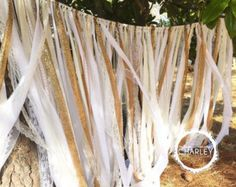Wedding Backdrop Gold Sequin, Fabric & Lace Party Garland Floor Length - Rustic Chic, Shabby Boho - Photo Booth - x Wedding Cake Backdrop, Wedding Reception Signs, Chicago Wedding Venues, Garland Wedding, Wedding Decor, Wedding Backdrops, Wedding Gifts, Country Wedding Cakes, Country Wedding Invitations