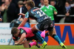 Exeter Chiefs 44 - 29 Cardiff Blues: Shambolic Welsh region blown away in first-half horror show. Harry Robinson seals the bonus point #CardiffBlues #Rugby