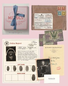grand budapest hotel  graphics and prop designer: annie artkins